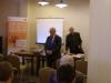 Seminarium w Olsztynie, kierownik projektu Jerzy Pilimon i szef BCC Wiesˆaw Łubiański