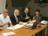 Pakt podpisują Zdzisław Panek i Teresa Bartkowska- Furtak (Region Mazowsze Solidarności-Działdowo)