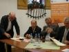 Pakt podpisuje Andrzej Zygmunt, szef FZZ METALOWCY z Philiphsa Kętrzyn