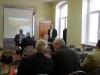 Seminarium w Elblągu, wystąpienie Jana Fiodorowicza - Przewodniczącego Zarzadu Regionu Elbląskiego NSZZ Solidarno˜ść